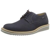 Mephisto ENZO - men's lace-up shoe - navy blue nubuck