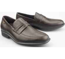 Mephisto ERIC dark brown leather loafer for men