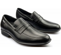 Mephisto ERIC black leather loafer for men