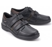 Mobils by Mephisto EYMAR Men's Shoe - Wide Fit - Black