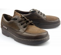 Mobils by Mephisto FARLEY  leather/nubuck shoe for men dark brown