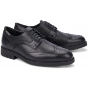 Mobils by Mephisto FERNAND black leather lace-up shoe for wide feet