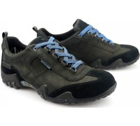Allrounder by Mephisto FINA-TEX  black leather suede   (waterproof)