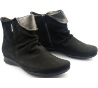 Mephisto FIORELLA bucksoft black nubuck boots for women
