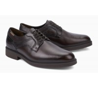 Mobils by Mephisto FLAVIEN leather lace-shoe dark brown    WIDE FIT