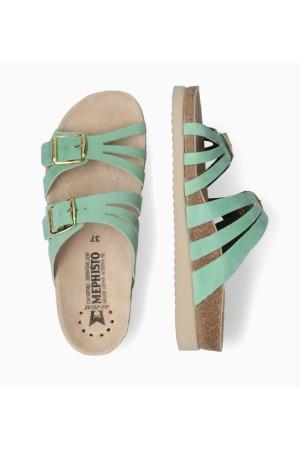 Mephisto HELISA Women Sandal - Mint Green