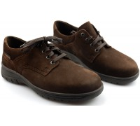 Mobils by Mephisto IAGO dark brown nubuck    WIDE FIT