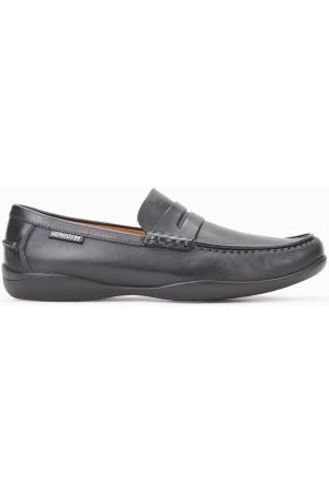 ca9fa0dd0f0 ... Mephisto IGOR black leather men's loafers ...