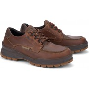 Mephisto ISAK Goretex waterproof leather lace shoes for men tobacco brown