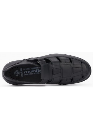 Mobils by Mephisto KENNETH Men's Shoe - Wide Fit - Black