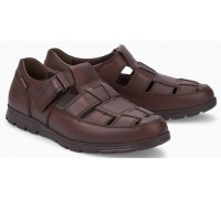 Mobils by Mephisto KENNETH Men's Shoe - Wide Fit - Dark Brown