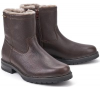 Mephisto LEONARDO Wool Lined mens boot dark brown