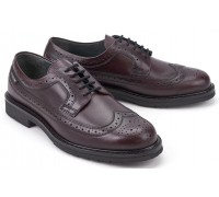 Mephisto MATTHEW Men's Lace-up Shoe - Hand Made - Red      GOODYEAR WELT