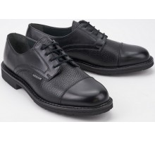 Mephisto MELCHIOR black leather handmade laceshoe for men