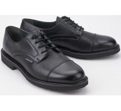 Mephisto MELCHIOR black leather handmade laceshoe for men