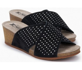 Mephisto MELODIE SPARK Women's Sandal - Black
