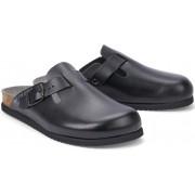 Mephisto NATHAN leather sandal for men black