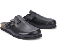 Mephisto NATHAN leather sandal for men black