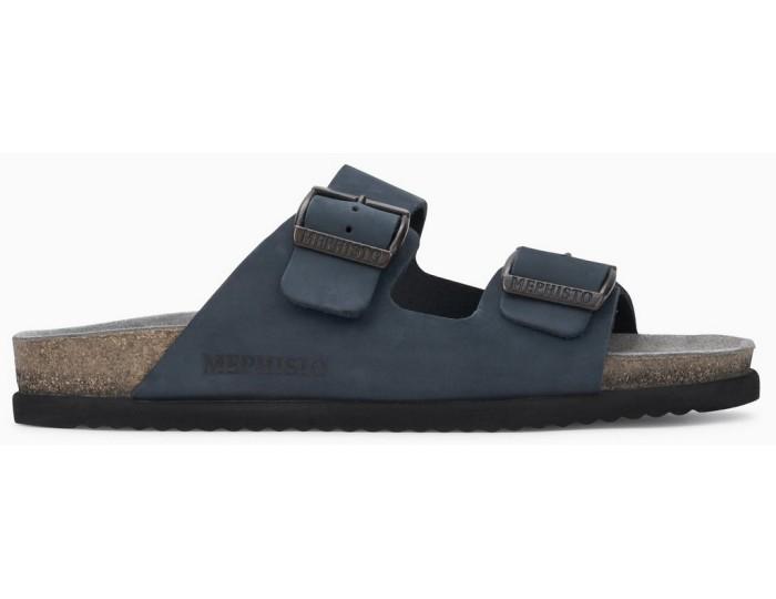 e4c5b8ecf4e Mephisto NERIO Men's Sandal - Navy Blue