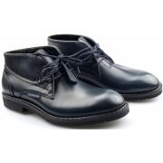Mephisto NOVAK leather handmade GOODYEAR WELT boots for men blue