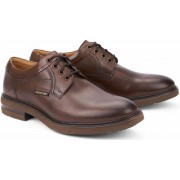 Mephisto OLIVIO leather lace-up shoe for men hazelnut brown