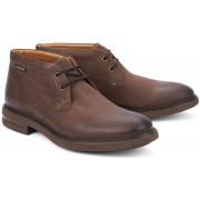 Mephisto OWEN nubuck leather ankle boot for men dark brown