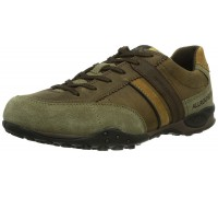 Allrounder by Mephisto TARAN beige dark brown coffee leather suede outdoor shoes