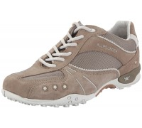 Allrounder by Mephisto TITAN taupe grey leather suede