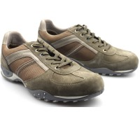 Allrounder by Mephisto TITANO taupe grey textile suede