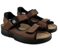 Mephisto ATLAS FIT SANDALCALF mens sandal - dark brown leather