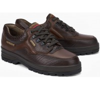 Mephisto BARRACUDA MAMOUTH men's lace-up shoe - dark brown leather  (waterproof)