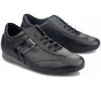 Mephisto BARTY womens sneaker - black leather