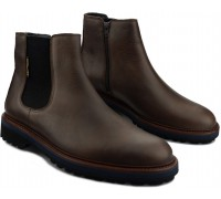 Mephisto BENSON leather chelsea boot for men - dark brown