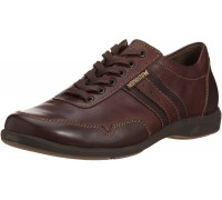 Mephisto BONITO - men's lace-up shoe - chestnut brown leather