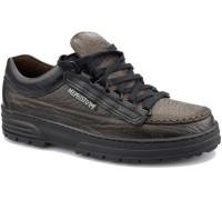 Mephisto CRUISER - men's lace-up shoe - dark brown black combi leather