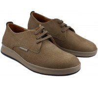 Mephisto Lester leather lace up shoes for men brown
