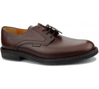 Mephisto MARLON ELCHO - men's lace-up shoe - brown leather  HANDMADE