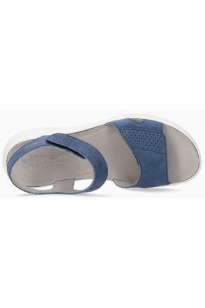 Mephisto TANY women's sandal - blue nubuck