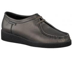 Mephisto CHRISTY metallic kaki grey leather