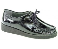 Mephisto CHRISTY patent black leather