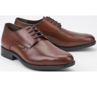 Mephisto COOPER brown leather laceshoe for men