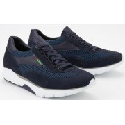 Sano by Mephisto ERIK AIR blue leather suede combi
