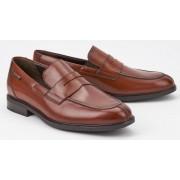 Mephisto FORTINO chestnut brown leather men's loeafer