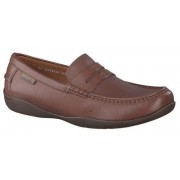 Mephisto IGOR chestnut brown leather men's loafers