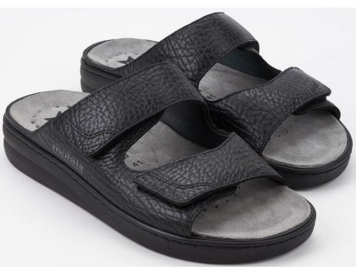 8b53b04e39 Mobils by Mephisto JAMES wide fit sandal men black
