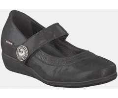 Mobils by Mephisto JESSY black leather            WIDE FIT
