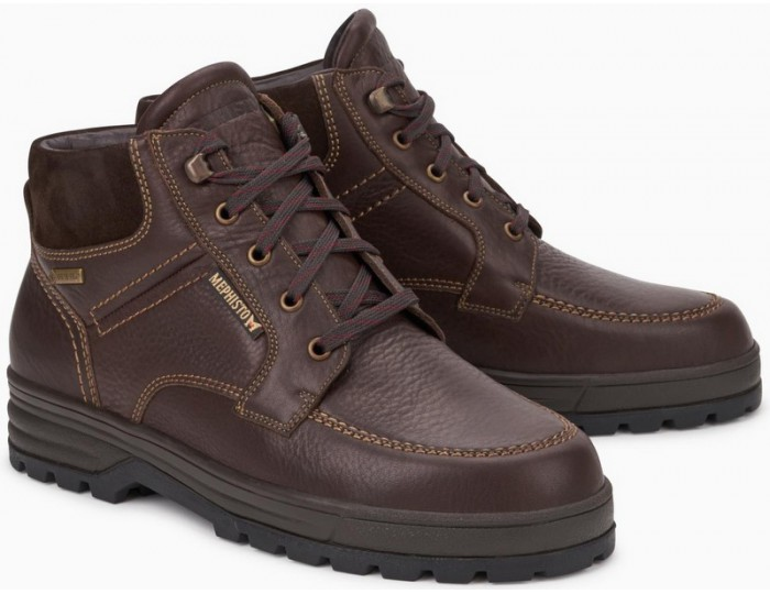 ce00cafeec Mephisto JIM-GT chestnut brown leather GORE-TEX
