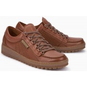 Mephisto RAINBOW OREGON hazelnut brown leather lace shoe for men