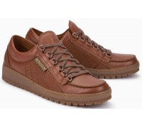 8468f017bc Mephisto RAINBOW OREGON hazelnut brown leather lace shoe for men