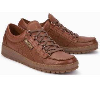 Mephisto RAINBOW OREGON hazelnut brown leather lace shoe for men